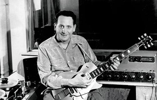 9th June 1915, Born on this day, guitarist Les Paul, inventor of the Gibson Les Paul guitar http://t.co/GFC0aLA0rE