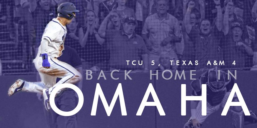 BACK TO THE PROMISED LAND! #TCU wins it in the 16th to punch a return ticket to Omaha!!! #ToadToOmaha http://t.co/St6reXPLR7
