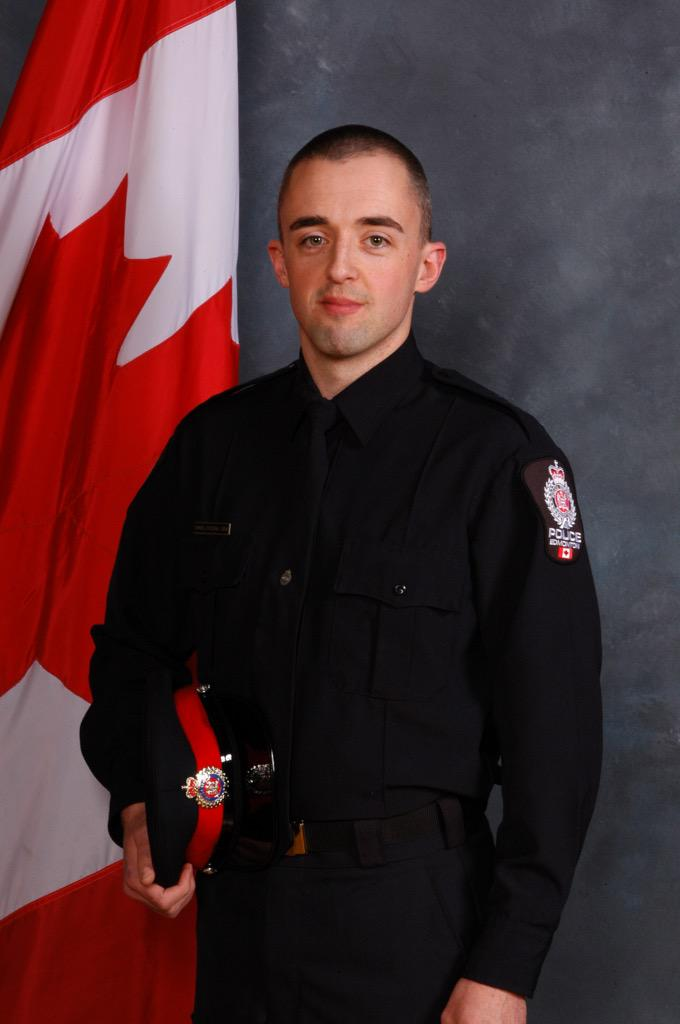 Edmonton Cop Daniel Woodall Shot Dead While on Duty