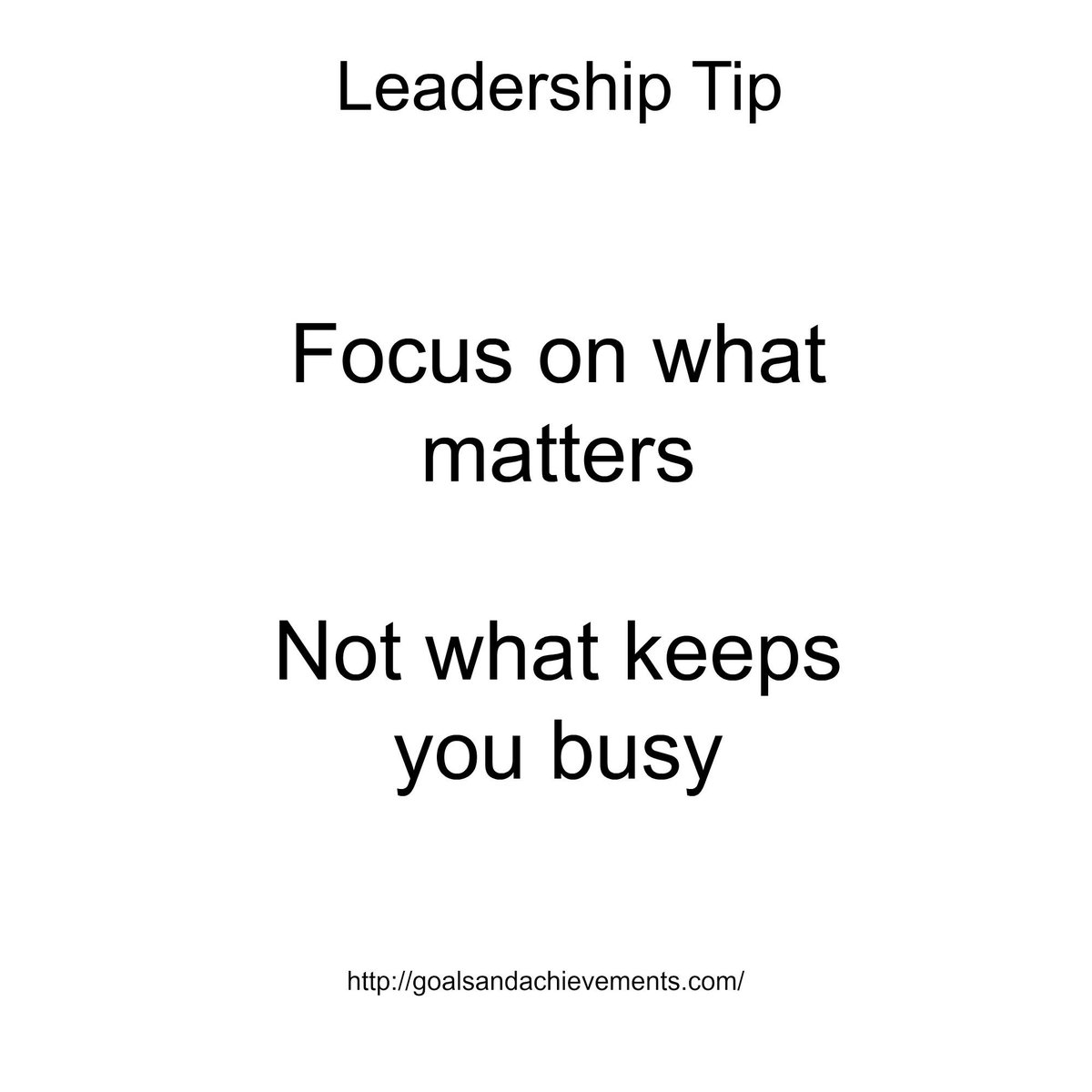 Today's leadership tip..... http://t.co/WJfiEvXhfC