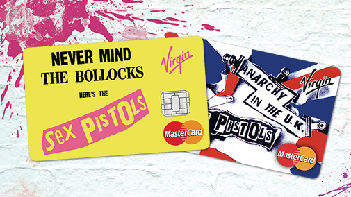 Introduce a little anarchy to your wallet with our new Sex Pistols credit card http://t.co/PUljHWSY7Q #borndifferent http://t.co/jiQhvrcMCt