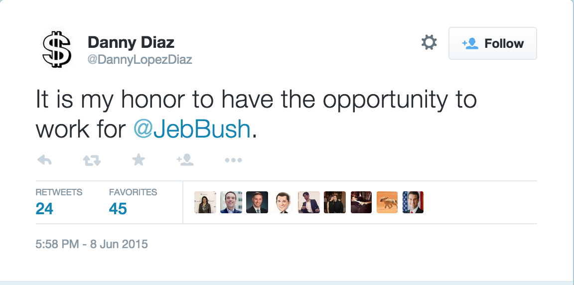 . @Jebbush's new campaign manager's twitter avatar #cantmakeitup http://t.co/o1Ge5jlGjZ