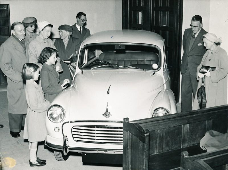 It appears you can fit a Morris Minor into an #archive. Our building in 1964 before conversion #IAD15 http://t.co/zYwwfhPiXy