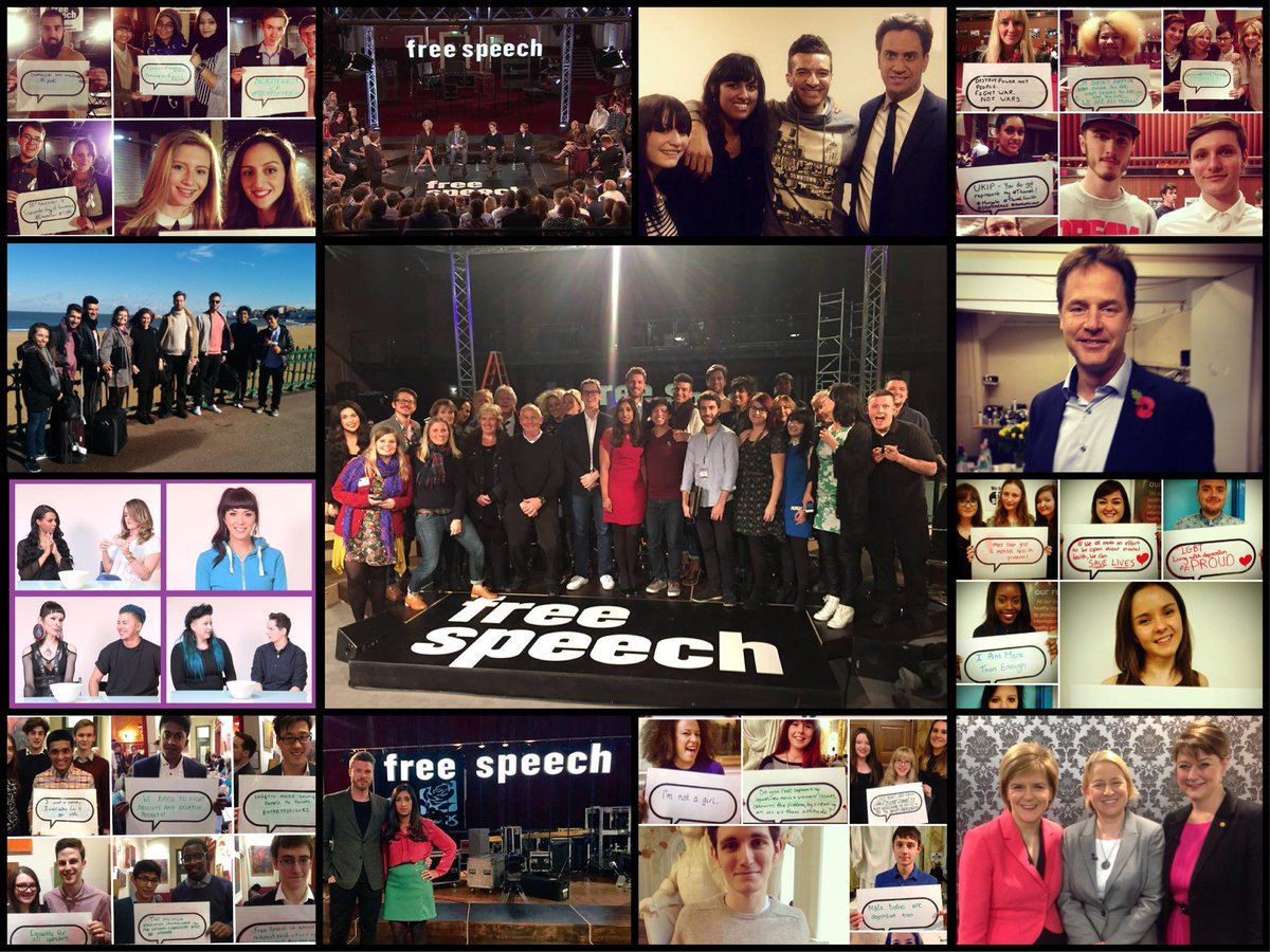 Sadly, the time has come for us to close. Hopefully we'll be back! From everyone on the Free Speech team, THANK YOU! http://t.co/Qbvx06zIVm