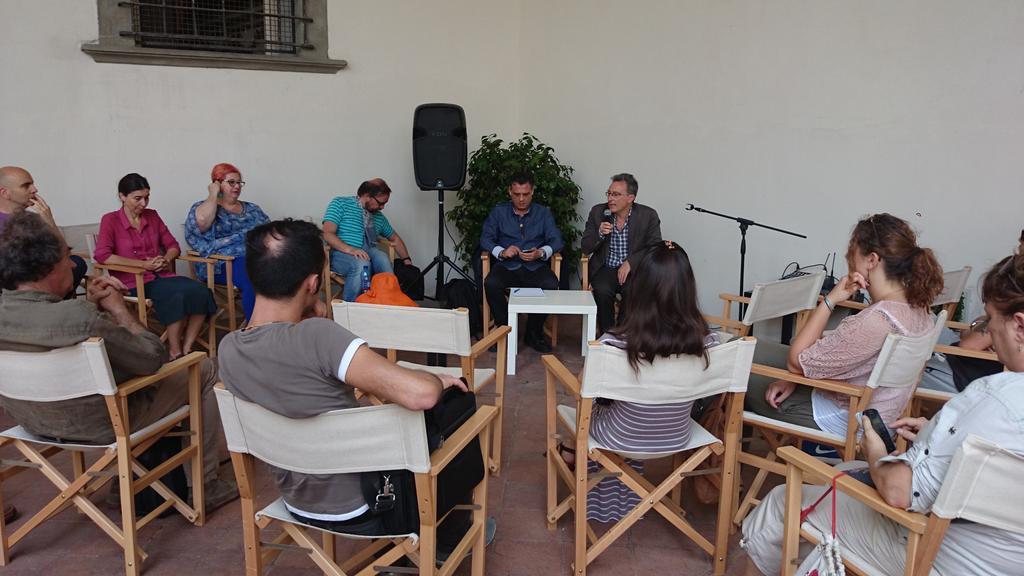 Thumbnail for Incontri tra pubblico e artisti a #iteatridelsacro