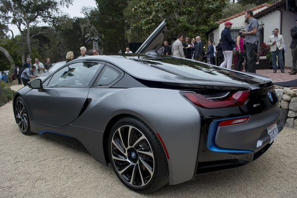 Matte Grey Bmw I8 Scoopnest Com