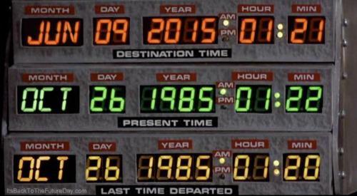 Incroyable : c'est aujourd'hui que Marty McFly est arrivé dans le futur ! #backtothefuture http://t.co/pbAEvHwbXa