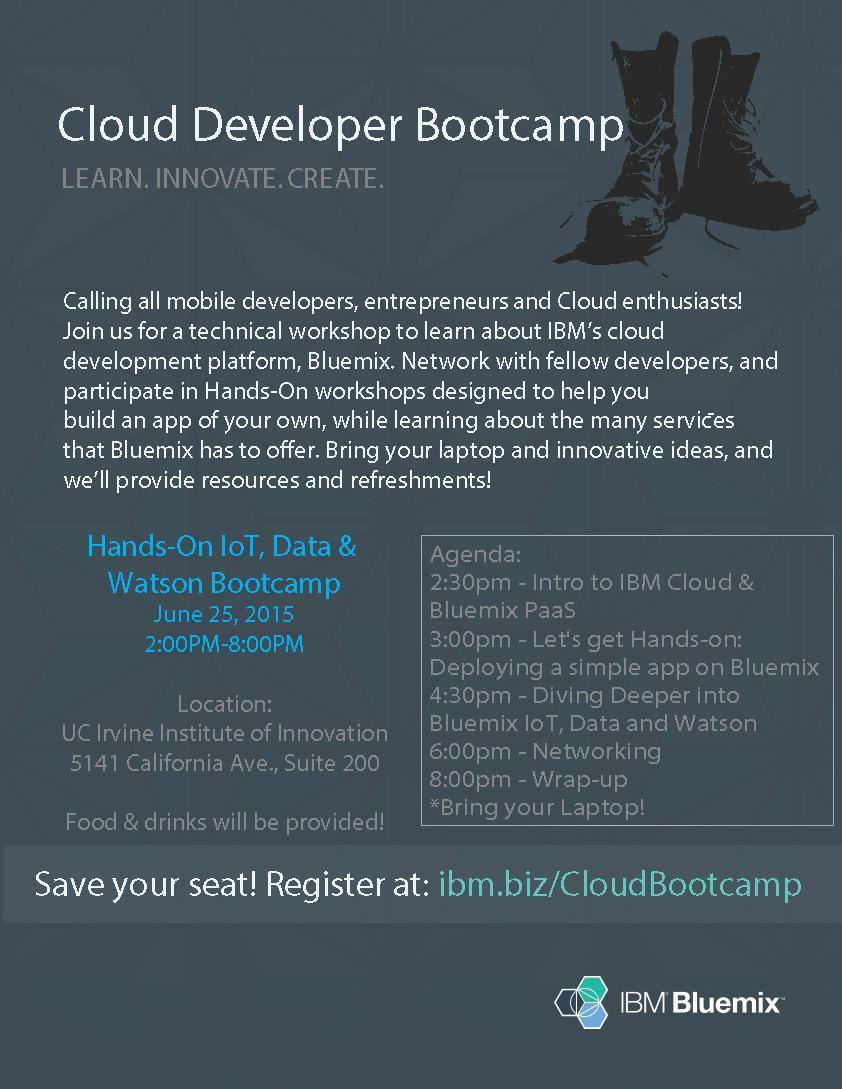 IBM Cloud Bootcamp So Cal