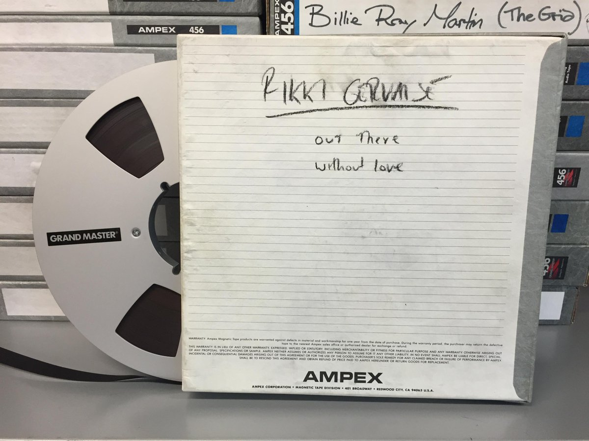 It's international archives day! Here's one of the gems from our vault. A tape by a certain mr @rickygervais #IAD15 http://t.co/KhnpLlLoAP