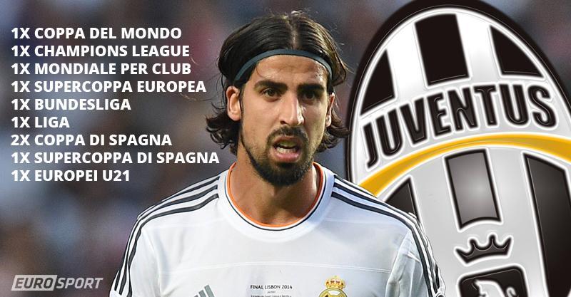 Calciomercato Juventus: Khedira firma fino al 2019