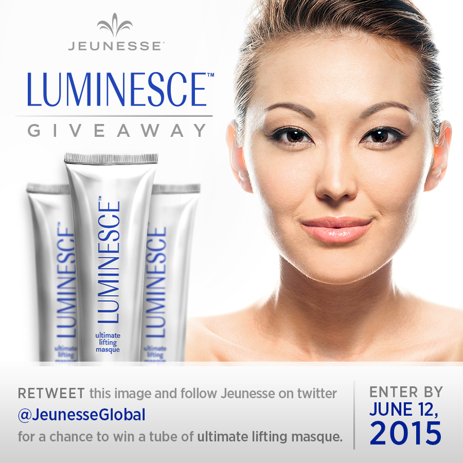 Retweet this image and follow @JeunesseGlobal to be entered to win! #Luminesce #contest #ContestAlert http://t.co/d7iSvffHZq