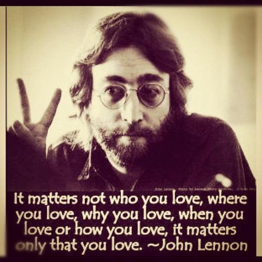 Hippy Days On Twitter Johnlennon Love Hippydays Quotes Frasi