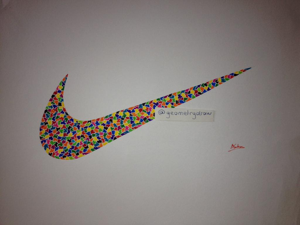 Geometry Draw On Twitter Dessin Logo Nike Nike Sport Drawing Running Geometrydraw Dessin Multicolore Foot Tennis Rainbow Usa Rt Http T Co Rwgjxd7olq
