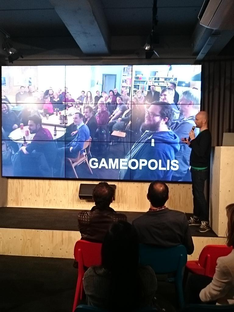 Really interesting #Gameopolis gradual launch for games design! Get in touch @thumbfood for info #StartupJourneys http://t.co/h4A9VOVo3g