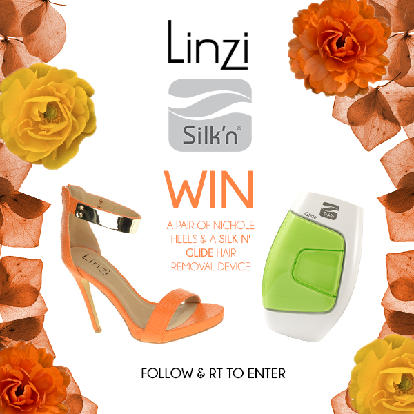 #GIVEAWAY time! #WIN some NICHOLE heels & a SILK'N GLIDE hair removal device! Follow & RT to enter @Silk_nbeauty! http://t.co/akkEG2gx91