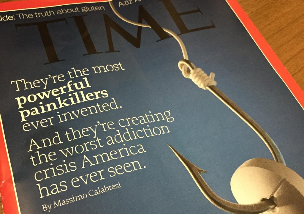 4 out of 5 ppl addicted to heroin say they started w/ Rx #painkillers. @TIME @calabresim http://t.co/5ecVGl2wZE
