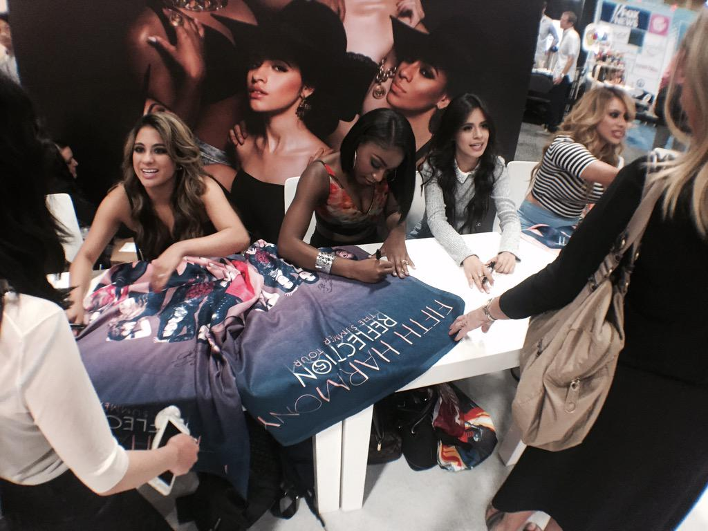 Hurry!! Happening now! Meet @fifthharmony @ Booth T197 @SonyMusicGlobal #licensing15 #vegas http://t.co/TjHzeNYVaI