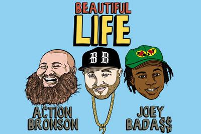 "Enjoy the ""Beautiful Life"" thanks to @StatikSelekt & guests @ActionBronson & @joeyBADASS. http://t.co/FmQk5xxZLV http://t.co/BpFlJkaPgi #RT"