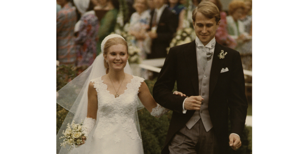 Tricia Nixon Wedding Dress