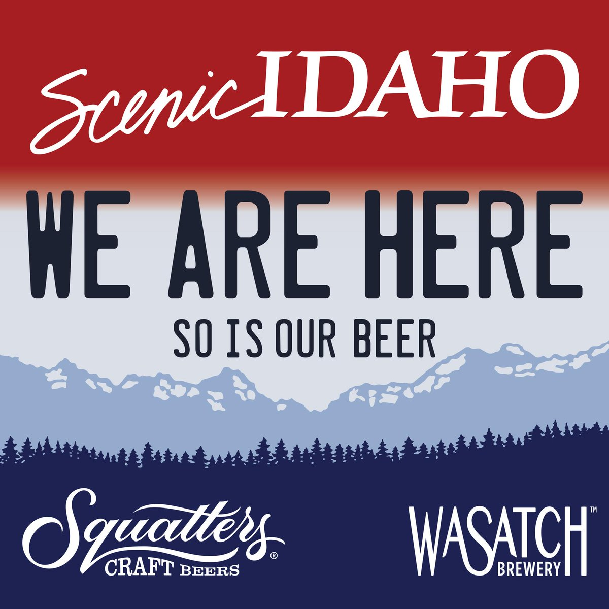 #Idaho, you emailed us, asked us and begged us to sell our beer in your fine state. The wait is now over!! #Squatters http://t.co/ZYRRuJRxZR