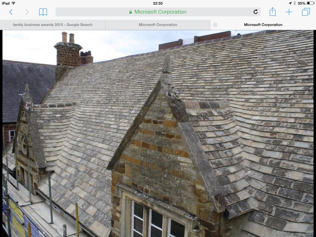 Claude N Smith Ltd On Twitter Quot Collyweston Slate Roof