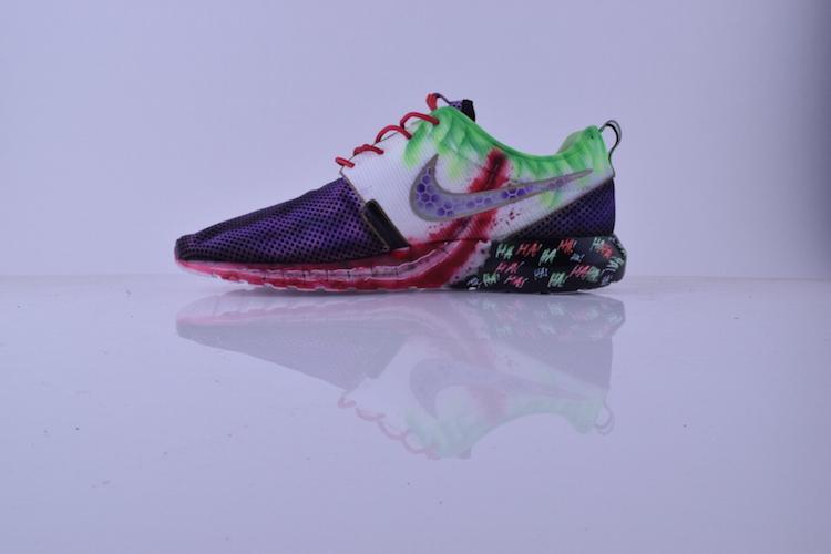 """346d05c97517 Nike Roshe Run NM """"Joker"""" Custom by Kickasso Kustoms http   t"""