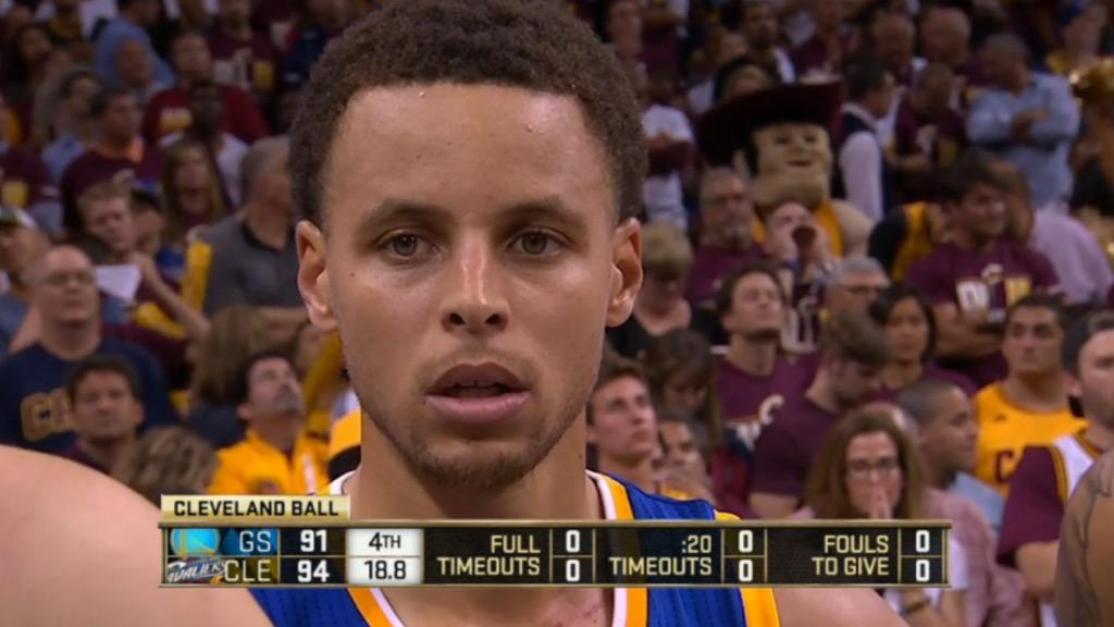"""""""He's behind me, isn't he."""" #NBAFinals http://t.co/lh9DeraSQm"""