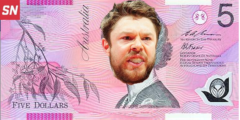 The Australian Parliament has announced it will start replacing the Queen on its $5 notes tomorrow. http://t.co/INkCAuMuvm