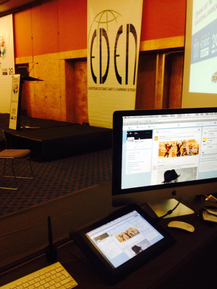 Getting ready for #EDEN15 http://t.co/yxr5Y2jhq9