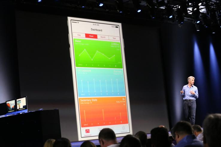 Here are all the new data types for HealthKit In iOS 9