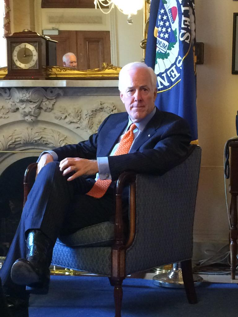 #Senator #Cornyn thank you for the great visit during #IamSmallBiz conference! http://t.co/CmYkiR0sxl
