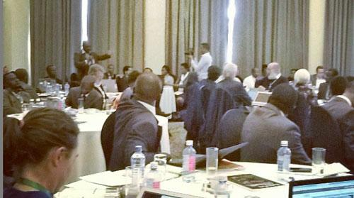 Plenty of questions from the floor at #LowCarbonAfrica - on energy access, tax & subsidies + research-policy links http://t.co/1OoHgj7sTq