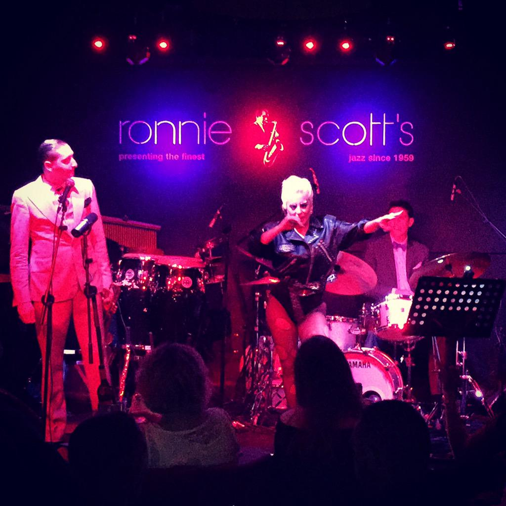 Epic night @officialronnies with @ladygaga - bewitched, bothered and bewildered indeed. http://t.co/jMEss9zFWH