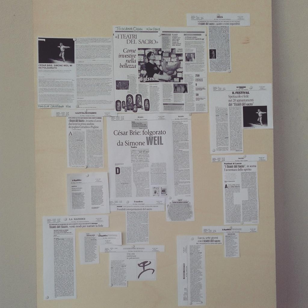 Thumbnail for Il racconto de #iteatridelsacro visto dagli studenti del Campus Lucca