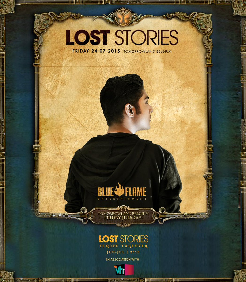 Proud to announce that we'll be representing #INDIA & playing at @tomorrowland on 24th July #LostStoriesTomorrowland http://t.co/5weSRFfeTU