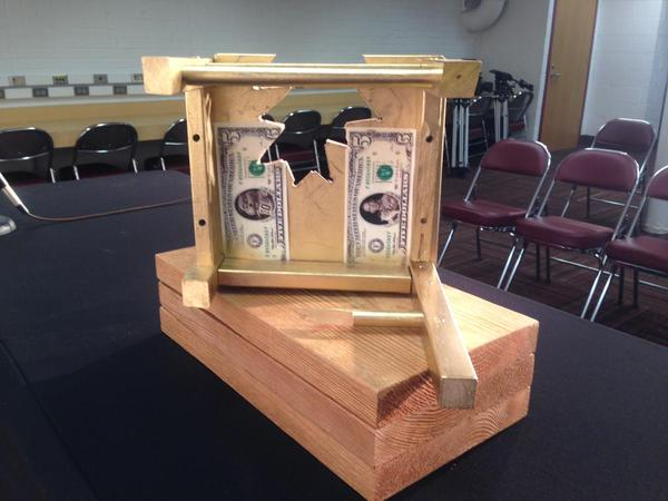 Retweet if you think the The $5 Bits of Broken Chair Trophy shared between the #Huskers and #Gophers should remain. http://t.co/bi2g6COV0x