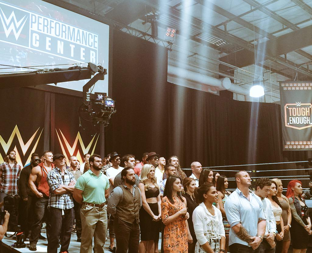 Triple H posts photo of Tough Enough finalists at the WWE Performance Center