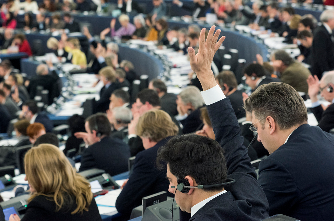 It's voting time at #EPlenary again: #hu...