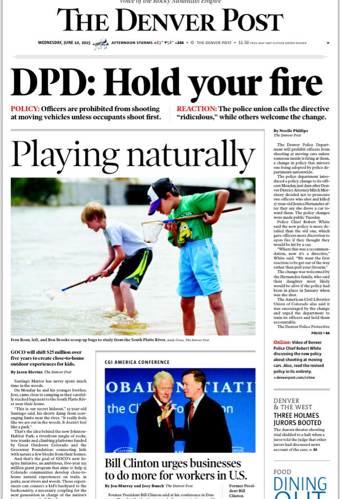 Registration still open for #OutdoorsSummit. Check out the front page of @denverpost for more: http://t.co/JDwsjJWEg0 http://t.co/9JTY2eISfg