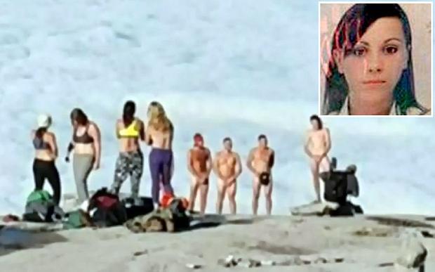 голые туристы фото