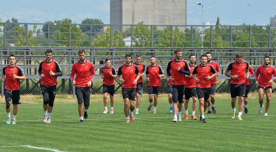 Vardar began their preparations this week