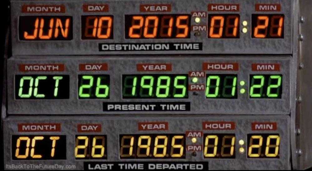 Today is the day Marty McFly went back to the future. http://t.co/ChMxKY3pD3