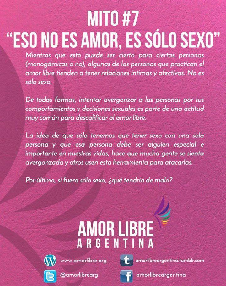 Amor Libre Argentina On Twitter Mitos Vii Frases Y