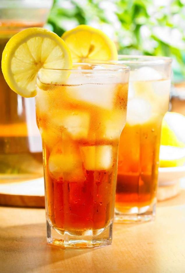 relax & enjoy a glass of iced tea.. add a shot of VITAMIN liquid supplement for a healthy boost! #nationalicedteaday
