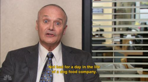 The Office Quotes On Twitter Not Bad For A Day In The Life Of A