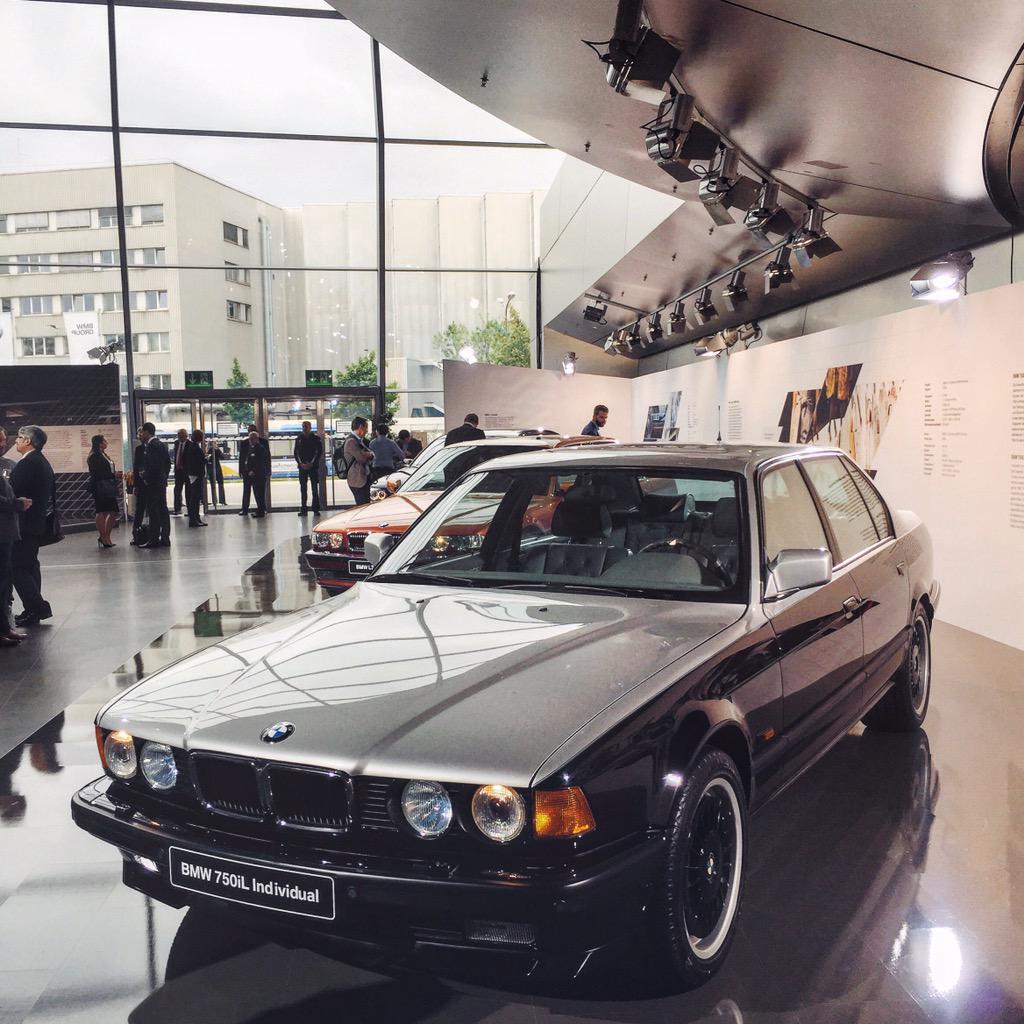 Jim Shi On Twitter Karl Lagerfelds Bespoke 1992 At Bmw 750li Used