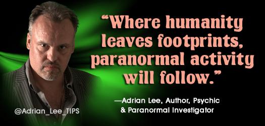 'Where humanity leaves footprints, paranormal activity will follow.' http://t.co/lYh0QMOWKv http://t.co/rWILFwalB9 #Christian #asmsg