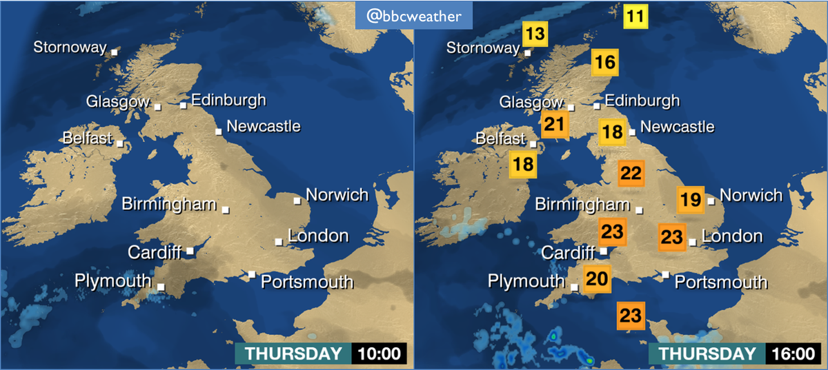 Bbc Weather On Twitter A Snapshot Of A Beautiful Summer Day