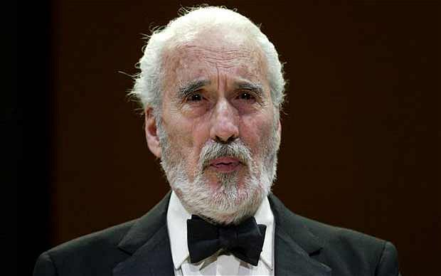 BREAKING: Legendary British actor Christopher Lee has died, aged 93. His incredible career:  http://t.co/9og6Lvvw0Q