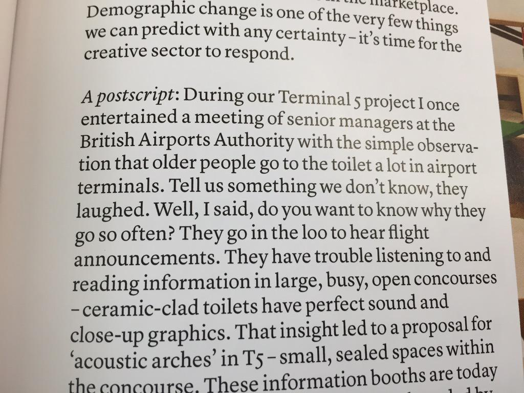 Why do older people go to the loo a lot in airports? Grt piece by Jeremy Myerson of @HHCDesign in @CreativeReview http://t.co/XbynyierrW